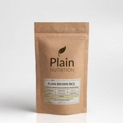 Almost Plain Brown Rice - Vanilla