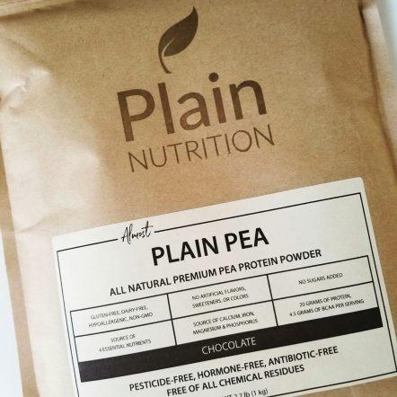 Almost Plain Pea (Chocolate)