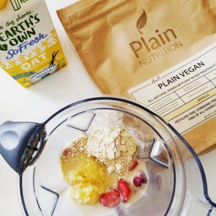 Almost Plain Vegan (Vanilla) Shake