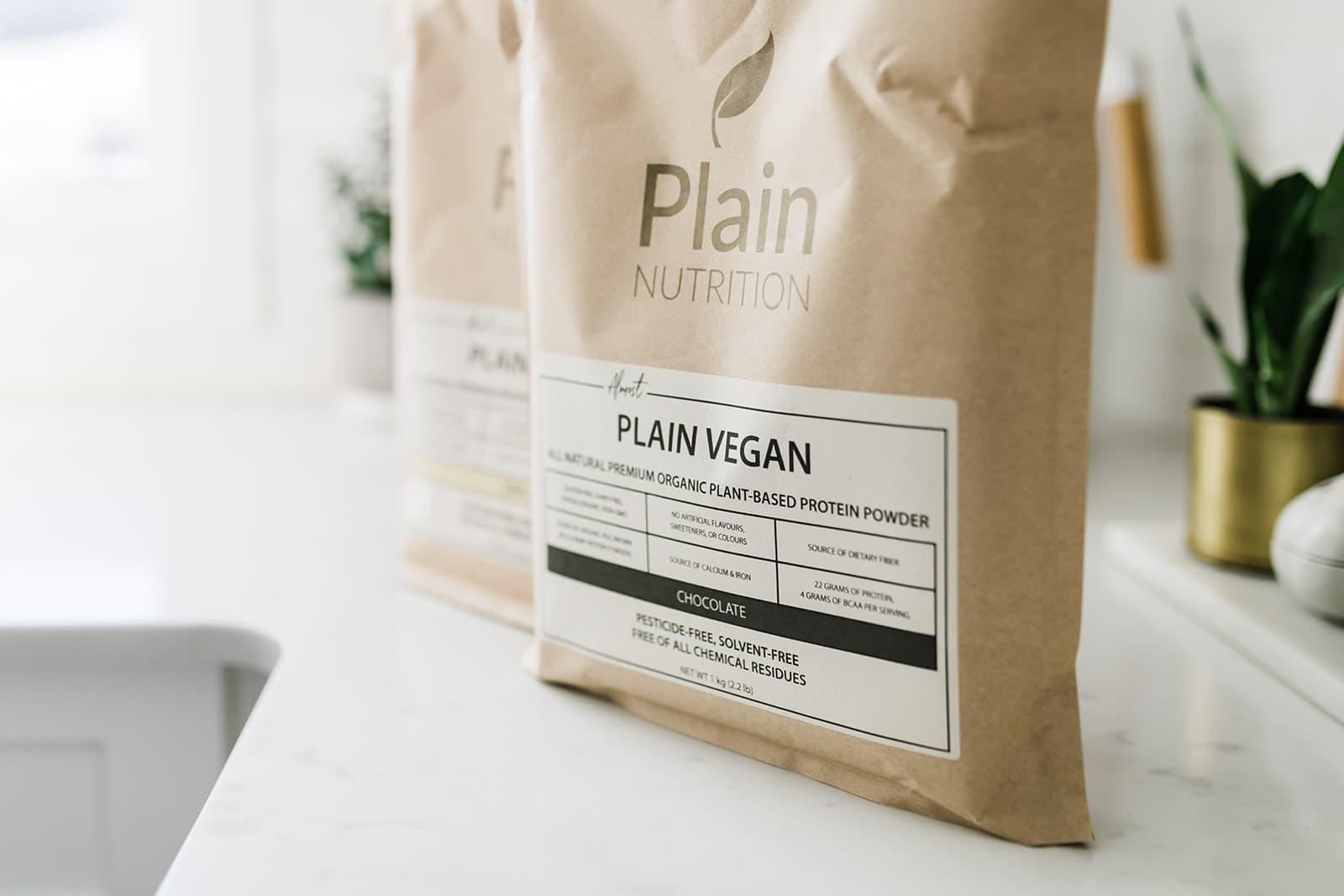 Vegan protein blends